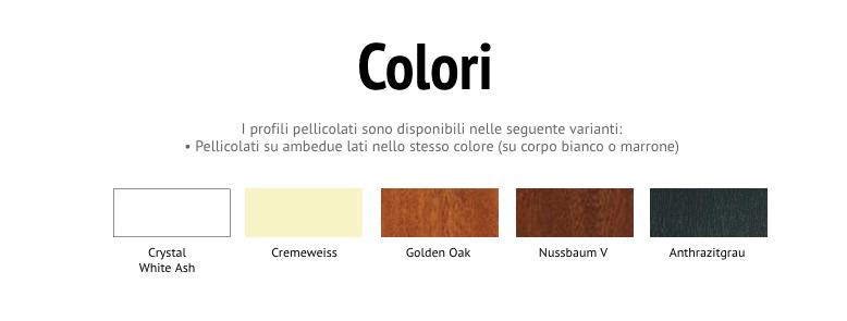colori infissi passepartout parma