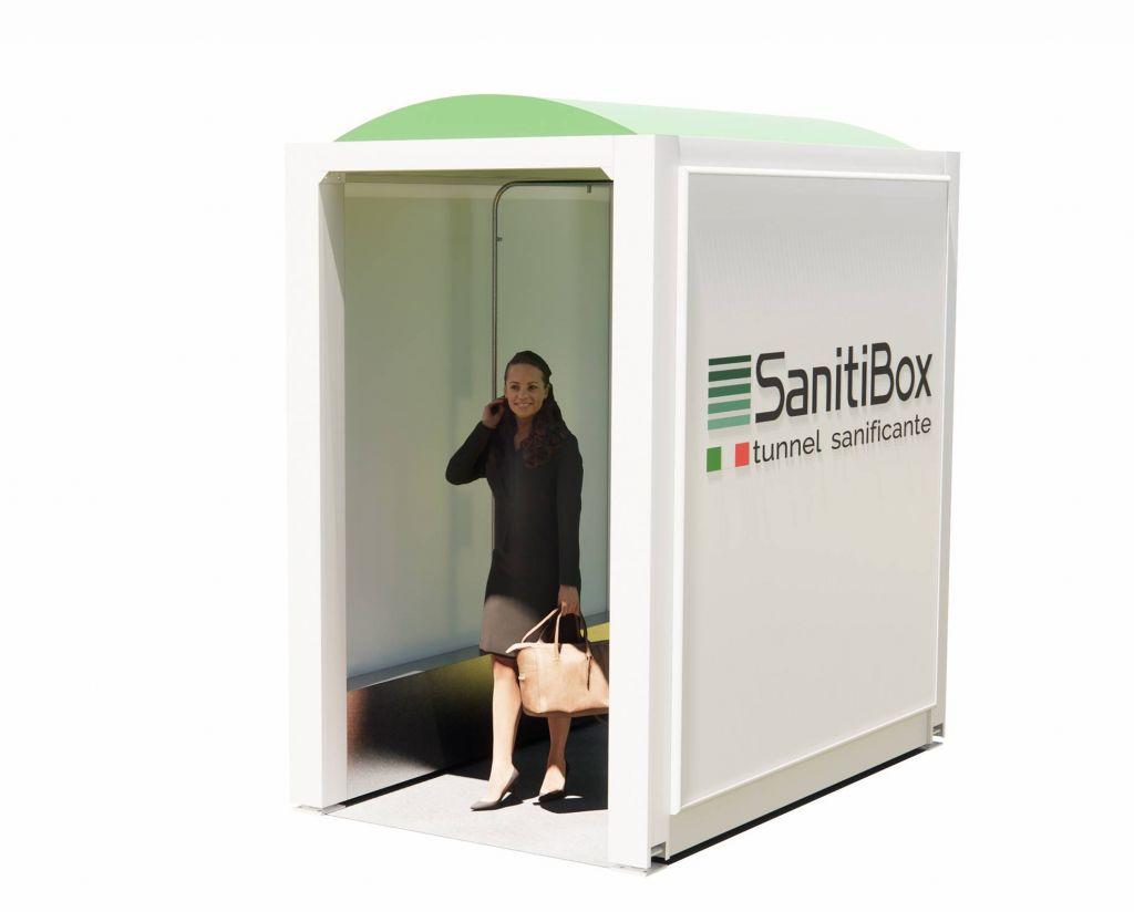 tunnel per sanificazione contro coronavirus